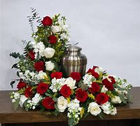Red & White Reflections Floral Arrangement