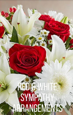 Sympathy Red & White Sympathy