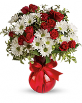 Red, White & You Bouquet