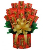 Reese's Candy Bouquet Gift Basket