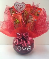 Reese's Love Candy Bouquet