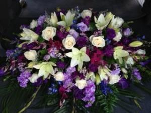 Reflections  Casket Spray in Riverside, CA | Willow Branch Florist of Riverside