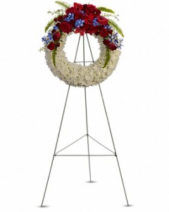 Reflections of Glory Wreath in Jasper, TX | BOBBIE'S BOKAY FLORIST
