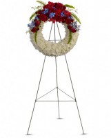 Reflections of Glory Wreath Funeral Arrangement