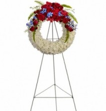 REFLECTIONS OF GLORY WREATH Funeral Flowers
