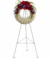 Reflections of Glory Wreath Standing Easel