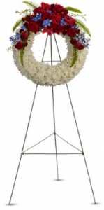Reflections of Glory Wreath Sympathy Wreath