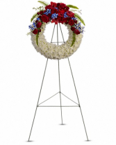 Reflections of Glory Wreath T241-1