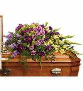 Reflections of Gratitude - 268 casket spray