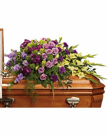Reflections of Gratitude Casket Spray Funeral