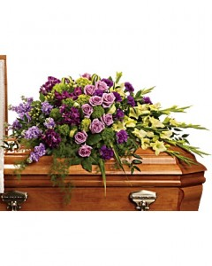 Reflections Of Gratitude Casket Spray Specialty Arrangement