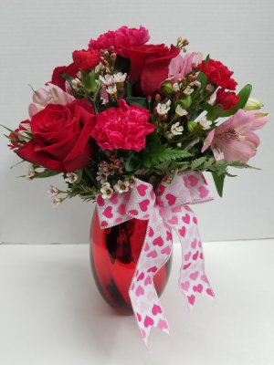 Reflections of Love Centerpiece in Osage, IA | Osage Floral & Gifts
