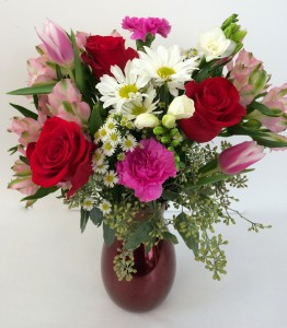 Reflections of Love Vase Arrangement