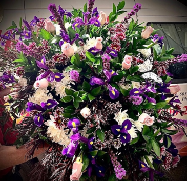 My Dear Loved One Purple, White & Pink