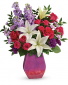 Regal Blossoms Vase Arrangement