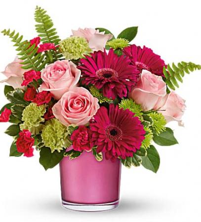 Regal Pink Ruby Bouquet