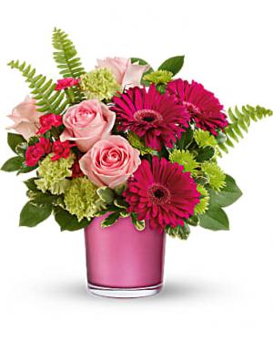 Regal Pink Ruby Bouquet in Ridgecrest, CA   THE FLOWER SHOPPE