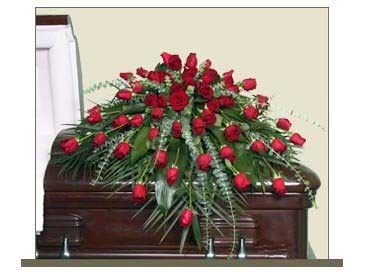 Regal Rose Casket Spray $250.95, $350.95, $450.95