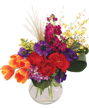 Regal Treasure Flower Arrangement in Fresno, CA | FLOWERS AND MORE