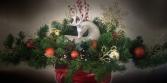 Reindeer  Centerpiece Artificial