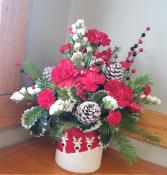 Reindeer Games Floral Arrangement