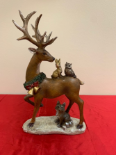 Reindeer with Animals Christmas Products