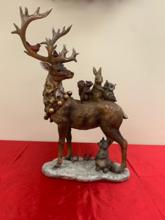 Reindeer with Birds and Animals Christmas Products