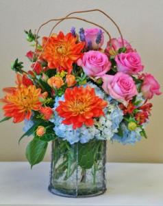 REMARKABLE RAINBOW  Arrangement of Flowers in Riverside, CA   Willow Branch Florist of Riverside