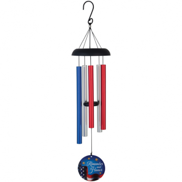 """Remember & Honor 32"""" Wind Chime Gifts"""
