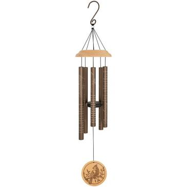 "Remembering You 33"" Wood Sonnet Wind Chime Powell Florist Exclusive"