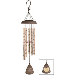 Remembering You Solar Wind Chime 60588 Sympathy Keepsake in Du Bois, PA | BRADY STREET FLORIST