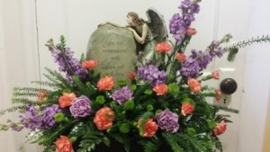 REMEMBRANCE ANGEL  in Saint Charles, MO | THE ENCHANTED FLORIST