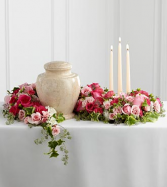 Remembrance Cremation Flowers  (Urn not included)