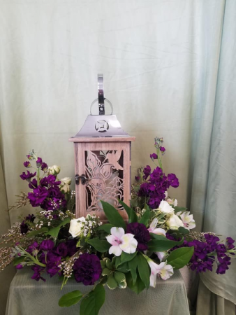 Remembrance Lantern  Arrangement
