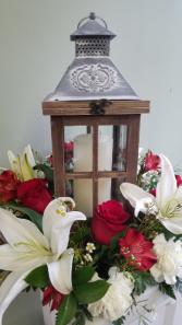 :Remembrance  Lantern Arrangement