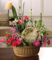 Remembrance Pet Garden Basket Pet Sympathy arrangement