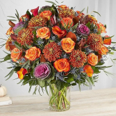 Rendezvous™ Deluxe for Fall Arrangement