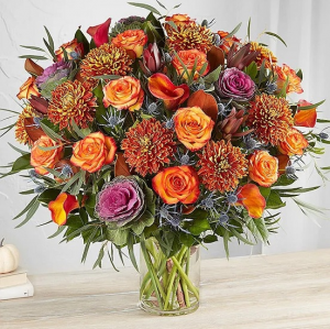 Rendezvous™ Deluxe for Fall Arrangement in Croton On Hudson, NY | Cooke's Little Shoppe Of Flowers