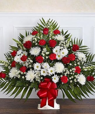Respect to you Sympathy Flowers