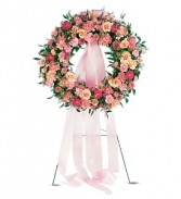 Teleflora's Respectful Pink Wreath