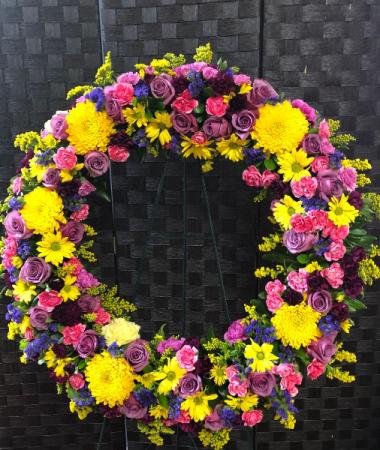 Resplendent Recollections Wreath