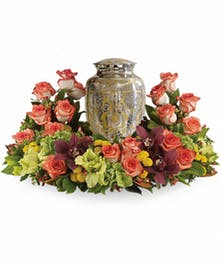 Restful Reverence Urn Design in Amelia Island, FL | ISLAND FLOWER & GARDEN