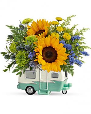Retro Road Tripper Bouquet  in Punta Gorda, FL | CHARLOTTE COUNTY FLOWERS