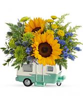 Retro Road Tripper Bouquet
