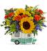 Retro Road Tripper Bouquet DX Everyday, Summer