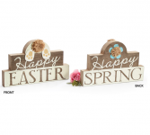 Reversible Easter/Spring Sign* Home Decor