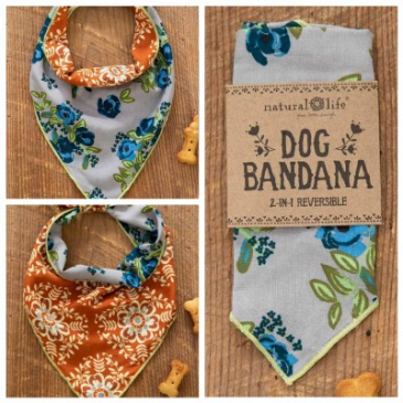 Reversible Dog Bandana Natural Life®