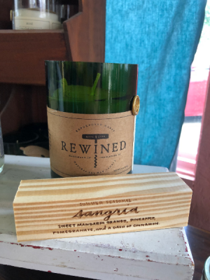 REWINED candle sangria  in Shreveport, LA | FLOWERS AND COUNTRY