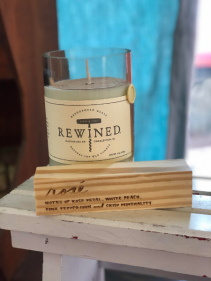 REWINED candle rose'