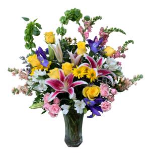 Rhapsody Garden Vase Arrangement in Seguin, TX   DIETZ FLOWER SHOP & TUXEDO RENTAL